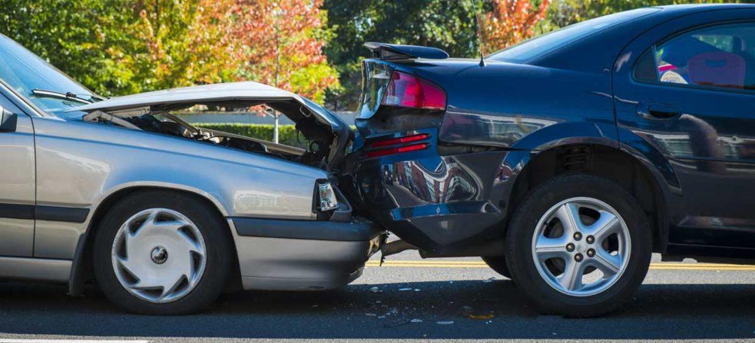 Provozierter Verkehrsunfall